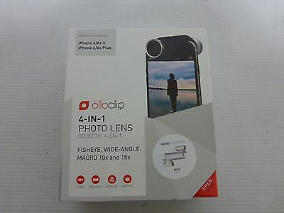 Olloclip Iphone 6 6s & 6 Plus 4 In 1 Lens Macro Fish Eye Wide Angle - Gold