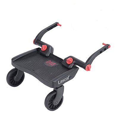Lascal MINI Stroller Buggy Pushchair Buggyboard - 3D Red