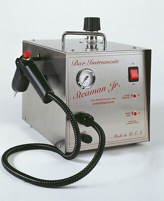 1 Liter Bar Steaman JR Stainless Steal Steam Cleaner For Dental Or Jewlery