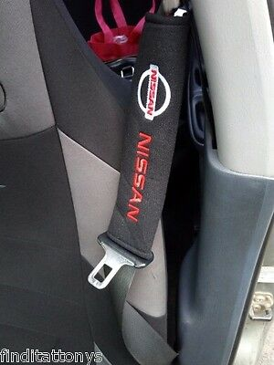 BRAND NEW Car Seat Belt Shoulder Pad Pair 2 pieces Covers Cushion For Nissan