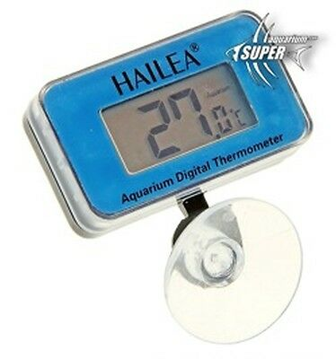 Aquarium Tropical & Marine Fish Tank Digital Glass Thermometer Water Temperature