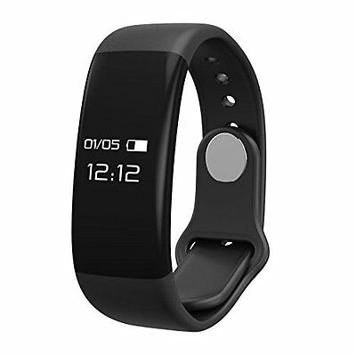 Fitness Tracker Watch Heart Rate Monitor Sleep Detection Calorie Step Counter