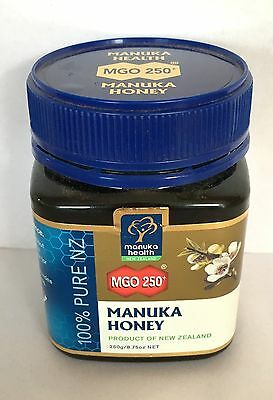Manuka Honey 100% Pure MGO 250+ Expiry Date: 05/2019 250g