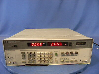 Agilent 8903B Audio Analyzer W/Option 001 30 Day Warranty