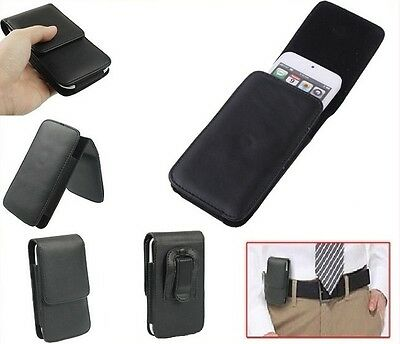 for HUAWEI ASCEND G330D (HUAWEI U8825D) (2012) Case Belt Clip  Synthetic Leat...