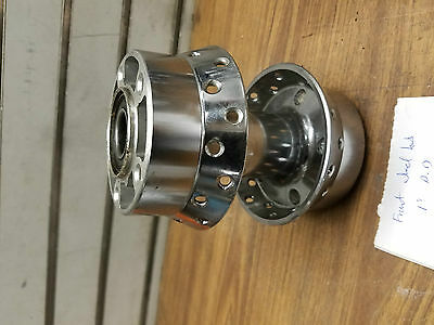 "Front Dual Disc Wheel Hub Harley Touring FLH Spoke 1"" Classic Road King Glide 00"
