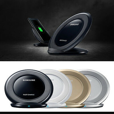 OEM Samsung Qi Wireless Fast Charger Stand  Galaxy S8 S7 S6 Edge Note 5 S8 Plus