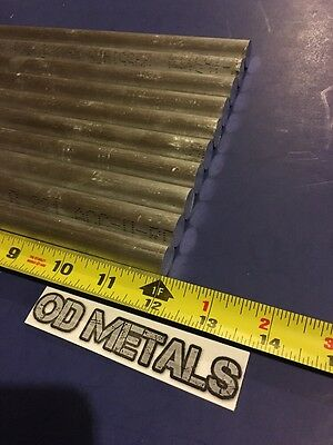 """10 pieces 5/8"""" inch round rod 12"""" long 6061 ALUMINUM NEW solid round bar t6511"""