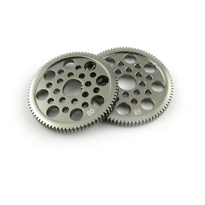 1pcs Aluminum Alloy Gears 80/85 Teeth Spur Gear Modulus 0.5M DIY Model