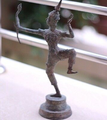 Bronze Rama Avata of Vishnu Archery Good Luck for Gift