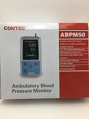 CONTEC Abpm50 Ambulatory Blood Pressure Monitor with Cd Software