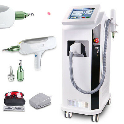 1000mJ 532/1064nm Nd Yag Laser Tattoo Removal Age Spot Skin Pigmentation Salon