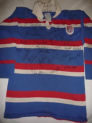 Match Worn and Signed Eastern Suburbs Rugby Union Football Club Jersey