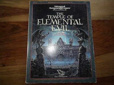 """The Temple of Elemental Evil"" (D&D, AD&D, TSR)"