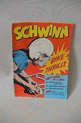Schwinn Bike Thrills #1 - Promotional Give-Away - 1959