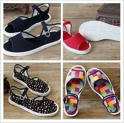 7744 Summer Women Cloth Shoes Chinese Martial Art Melaleuca Shoes Slippers Flats