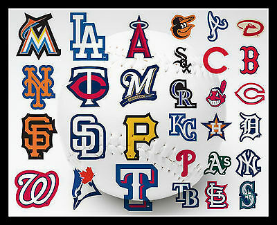 Mlb Licensed Baseball Team Logo Indoor Sticker Laptop Cell Phone You Pick