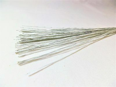 Cake Wire 28 Gauge 50PK WHITE - Cake Decorating, Floral Wire, Crafts ChappCakes