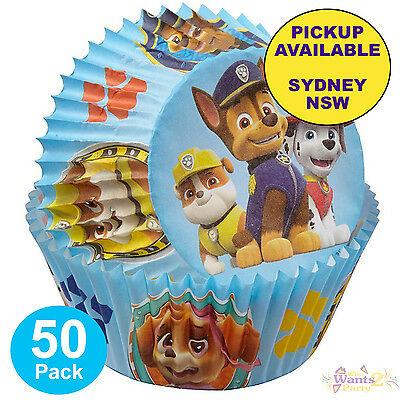 Paw Patrol Party Supplies 50 Baking Cups Cupcake Patty Pans Wilton Liners
