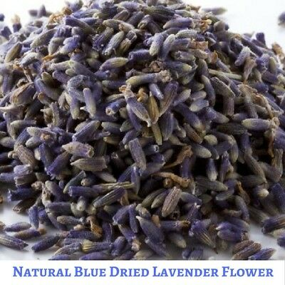 Super Blue 100 gram Dried Natural Lavender Flower - Free Shipping - Vacuum Pack
