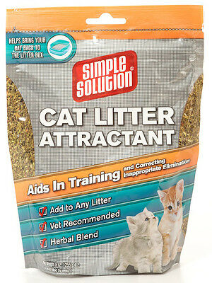 Simple Solution Cat Litter Attractant  255gm - helps train your cat
