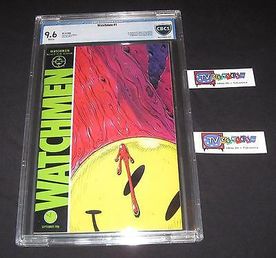 Watchmen #1 CBCS 9.6 White Pages (1986) - Alan Moore   Dave Gibbons - like CGC