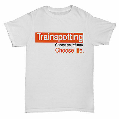 TRAINSPOTTING RETRO CHOOSE LIFE INSPIRED MOVIE FILM 90S CLASSIC UK T Shirt