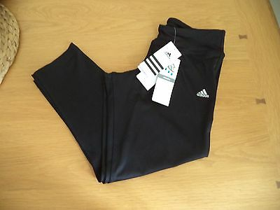 Adidas Climalite Womens Gym Running 3/4 Bottoms Leggings XS S M BNWT FREEPOST