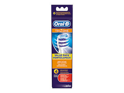 Braun Oral-B TRIZONE electric toothbrush replacement Brush Heads 4pack