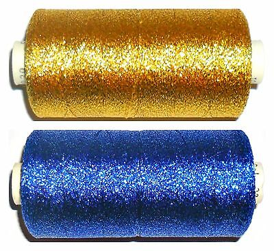 MADEIRA SUPERTWIST No.30, 1000MTRS, METALLIC EMBROIDERY THREAD, CHOOSE COLOUR