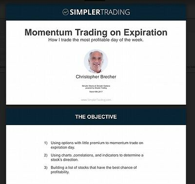 Simpler Trading Simpler Options - Sunset Options System