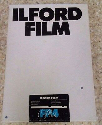 ILFORD FP4 Plus Professional 125 5x7 Film Unopened Box of 25 Exp. 12,7x17,8cm