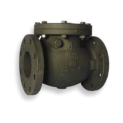 "CHECK VALVE FLANGED 4"" CAST IRON SWING 1JNL6 2974-M4 would Make a nice forge"