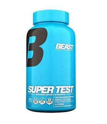 Beast Nutrition Super Test 180 Capsules - Testosterone Booster!