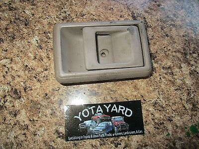 89-95 Toyota Pickup 4Runner Left Tan Door Handle Inner Latch YOTA YARD