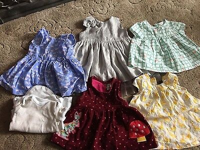 baby girls 3-6 months clothes bundle Lilly & Sid, John Lewis and Blue Zoo