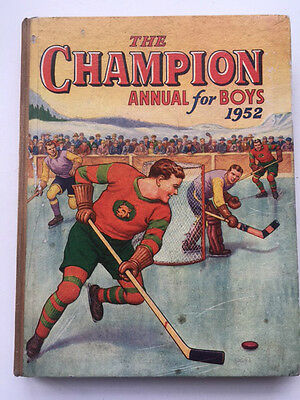 The Champion Annual for Boys 1952