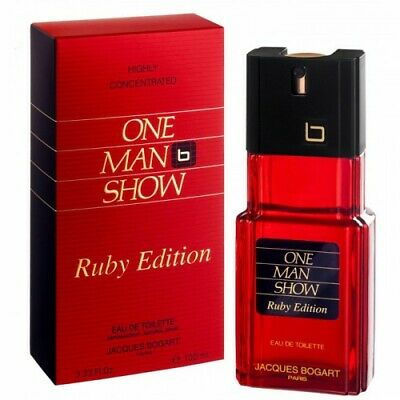 JACQUES BOGART ONE MAN SHOW RUBY ED. EAU DE TOILETTE HOMME 100ml VAPO / BLISTER