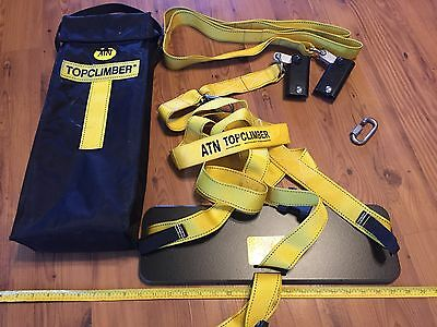 Atn Topclimber Bosun's Chair Full Kit Ready To Go Out Of Bag With All Equipment