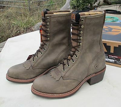 ARIAT BOOTS NEW LACE-UP PACKERS 11EE Men's #35029