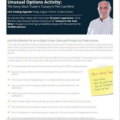 Simpler Options - Unusal Options Activity (Options Courses)