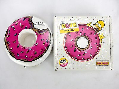 The Simpsons Movie The Music Limited Edition CD + Donut T-Shirt