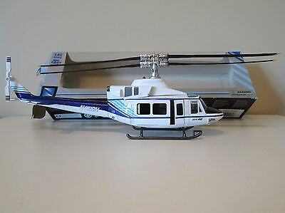 NEW RAY - Die Cast 1/48 scale Bell 412 Helicopter