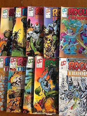 Rogue Trooper (Issues 14,15,17-24) / Quality Comics 2000AD Reprints