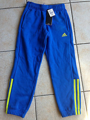 New Boys Adidas Tracksuit Pants Size 7-8 Years