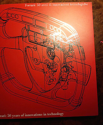 Ferrari 50 Years of Innovations in Technology 1947-1997 Book Brochure # 1213/97