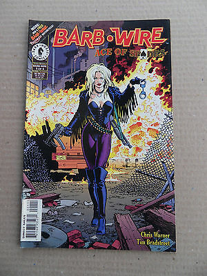Barb Wire : Ace of Spades 1 of 4 . Dark Horse 1996 - VF