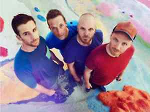 COLDPLAY at Solider Field, Chicago IL - 8/17/17 - SEC 110  ROW 5 SEATS 16,17