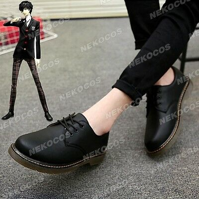 Nekocos Persona 5 Protagonist Cosplay Shoes Customized