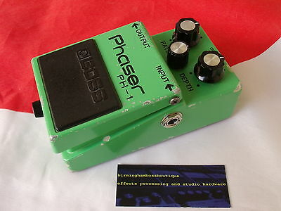 Boss Ph-1 Phaser Guitar Effects Pedal With Ph-1R Mod